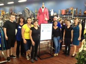 Goodwill's Deja Blue Boutique Opens to Lines of Shoppers