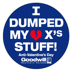 Goodwill Wants You to Dump Your X's Stuff