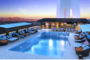 Radiusº Rooftop Pool & Wet Lounge to Open in May at Stratosphere Casino, Hotel & Tower