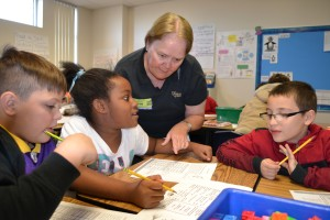 Bank of Nevada Employees Help Students Understand Financial Literacy Lessons