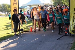 (Photo Credit: Claudia Groenlykke) More than 400 runners and walkers took part in the Las Vegas Hemophilia Walk and 5K on Saturday, September 24, 2016. at Floyd Lamb Park at Tule Springs.  The annual event raises funds and awareness of those with inherited bleeding disorders.  The Las Vegas and Reno Walks raised a combined $60,000 which will be used to send children with inherited bleeding disorders, and their siblings, to a special medically supervised summer camp for free. Additional funds will provide emergency assistance to families affected by inherited bleeding disorders.