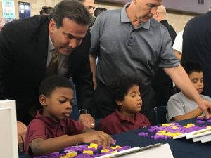 Bank of Nevada donates 42 iPads to Andre Agassi Preparatory Academy