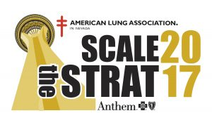 Scale the Strat is on Sunday, February 26, 2017 at Stratosphere Tower