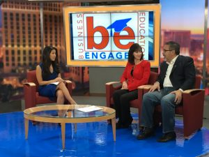 BE Engaged Nevada on 8 News Now Sunday Morning