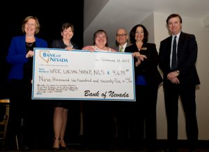 Four Legal Aid Organizations Benefit from Bank of Nevada Donation