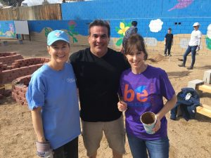 Bank of Nevada Volunteers Help Create School Garden at Halle Hewetson Elementary School