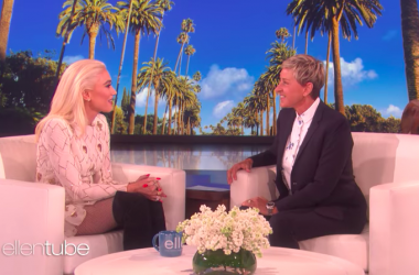 Gwen Stefani Announces Support of Cure 4 The Kids Foundation on ELLEN!