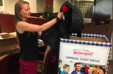 First Independent Bank Coat Drive Underway!
