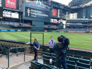 First-ever stair climb event at Phoenix's Chase Field supports American Lung Association in Arizona